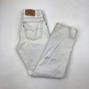 Vintage Levi's 512 High Waist wedgie fit Jeans
